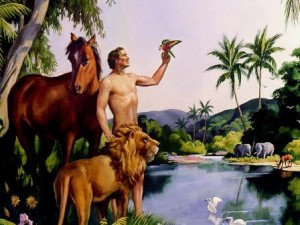 Adam in the Garden of Eden1a