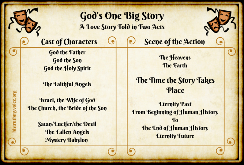 The Program Guide for God's One Big Story, Part 1