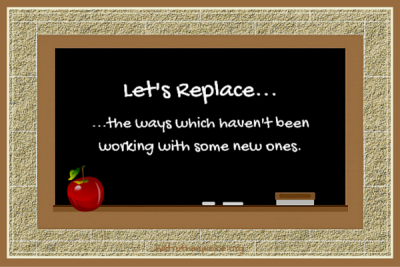 Let's Replace