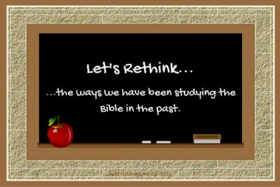 Let's Rethink