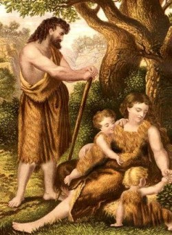 Adam and Eve with Sons