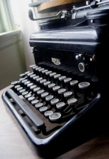 An Old Royal Typewriter