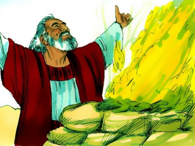 Noah's Offering Following the Flood
