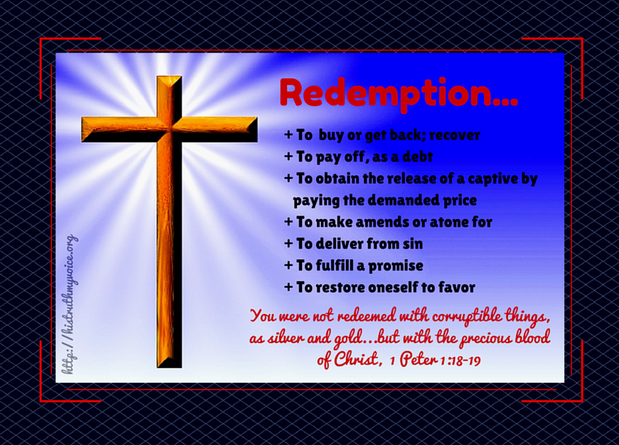 The Meaning of Redemption
