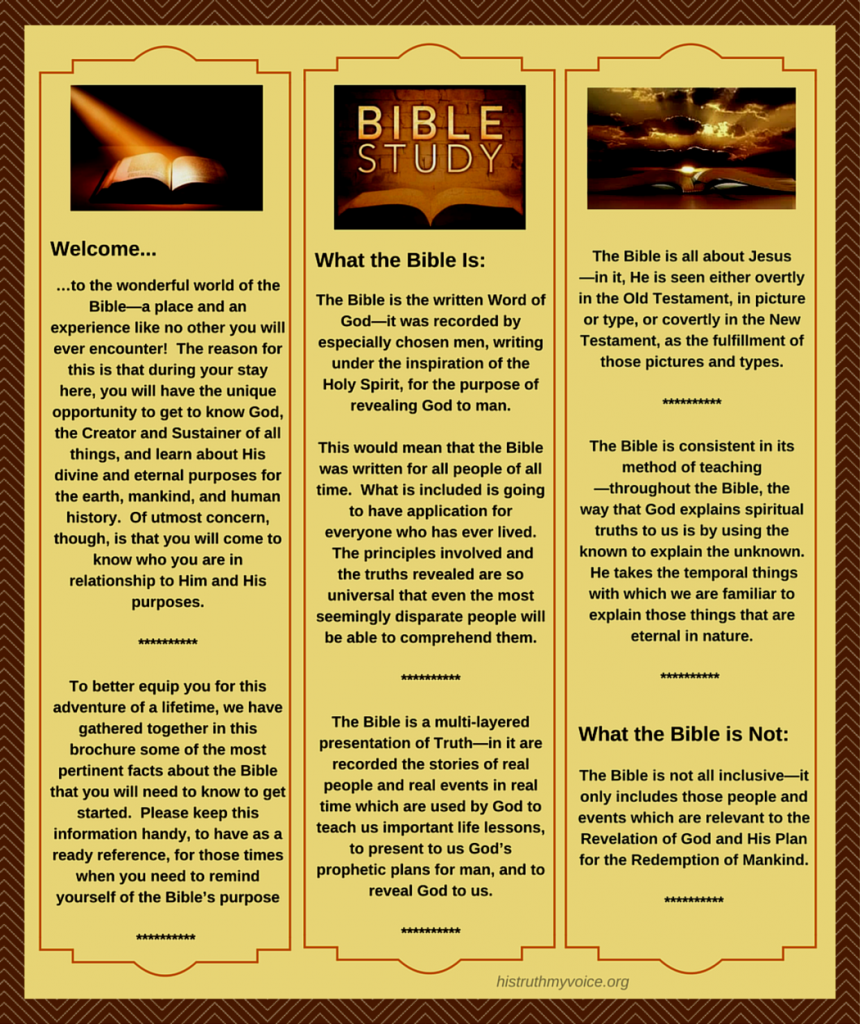 The Bible Brochure