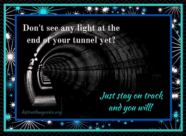 In a Dark Tunnel?