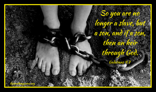 Through Christ, We Have Become the Sons and Daughters of God