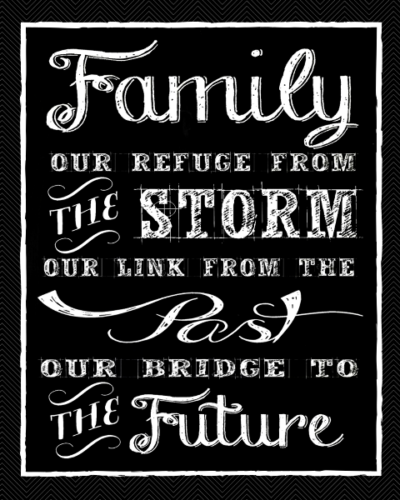 Family is Our Refuge