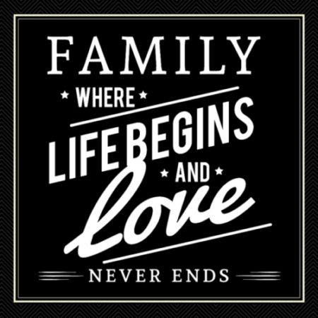 Family is Built on Love