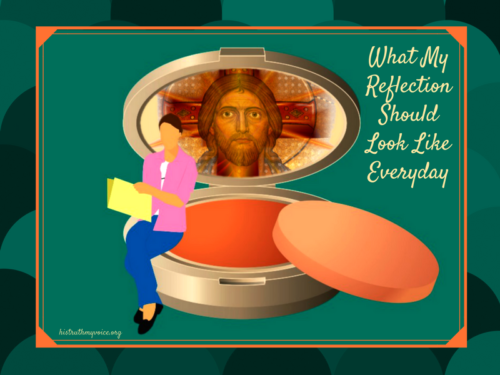 What Our Reflection Should Look Like
