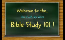 Bible Study 101